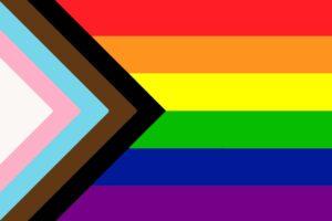 LGBTQ+ pride flag image